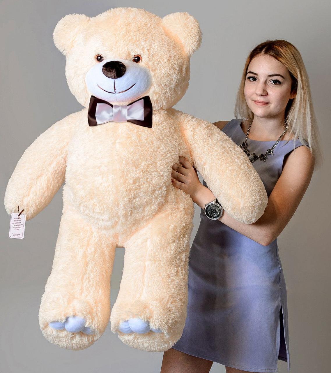 Плюшевий ведмедик Mister Medved Бежевий 110 см
