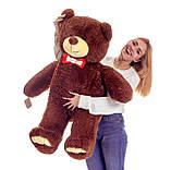 Плюшевий ведмедик Mister Medved Бурий 130 см, фото 4