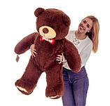 Плюшевий ведмедик Mister Medved Бурий 130 см, фото 5