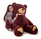 Плюшевий ведмедик Mister Medved Бурий 160 см, фото 3