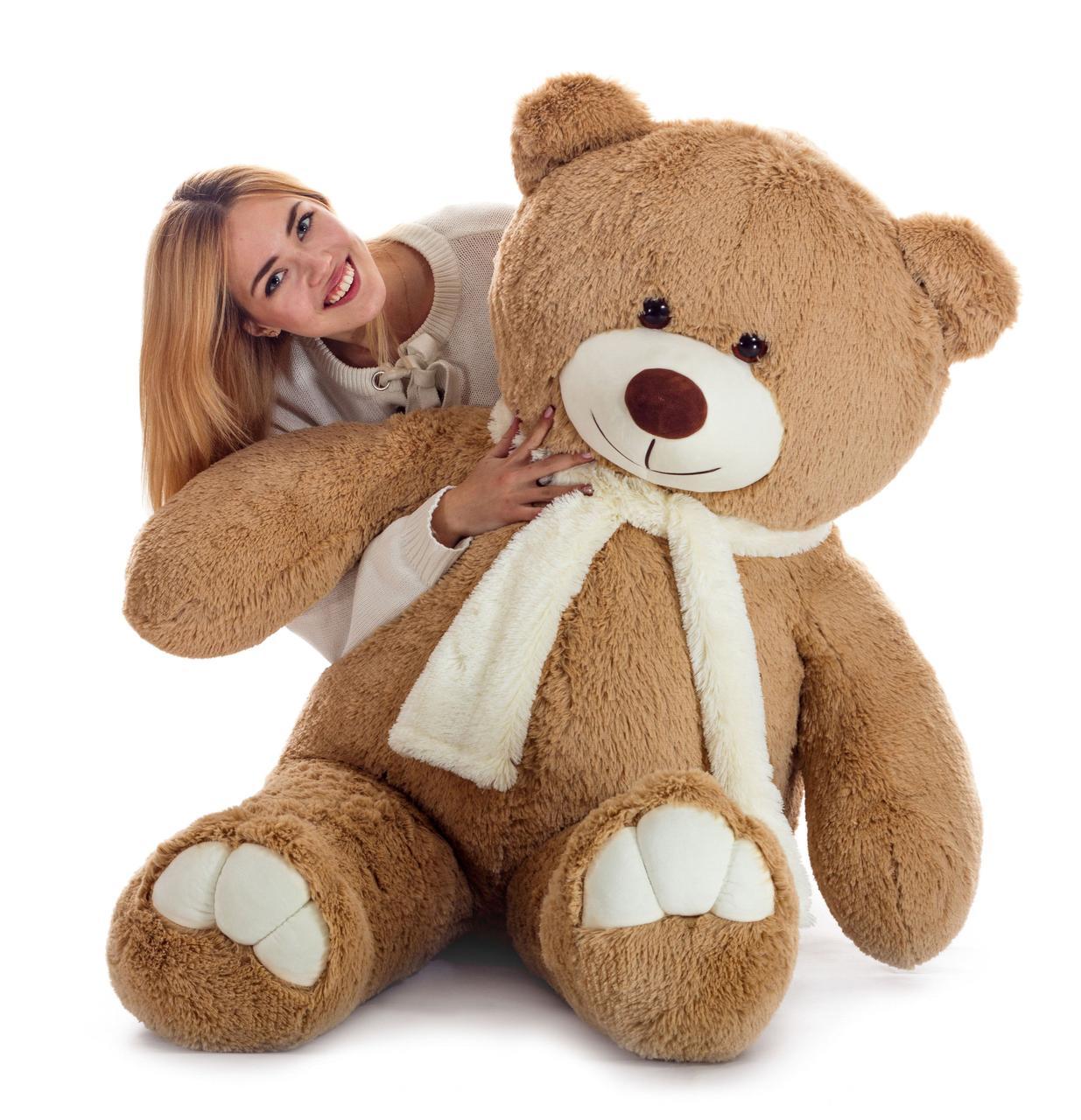 Плюшевий ведмедик Mister Medved Латте 160 см