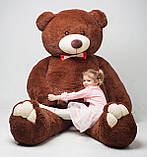 Плюшевий ведмедик Mister Medved Бурий 2 м 50 см, фото 2