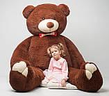 Плюшевий ведмедик Mister Medved Бурий 2 м 50 см, фото 4