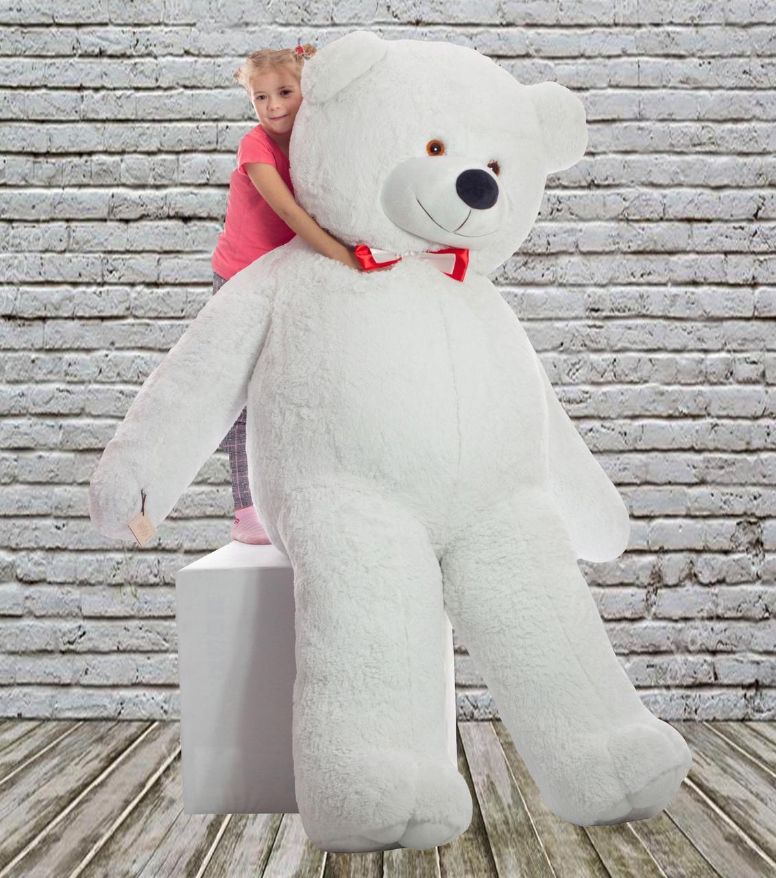 Плюшевий ведмедик Mister Medved Білий 2 м 50 см