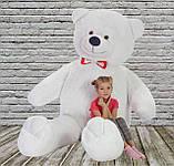 Плюшевий ведмедик Mister Medved Білий 2 м 50 см, фото 3