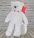 Плюшевий ведмедик Mister Medved Білий 2 м 50 см, фото 5