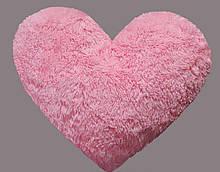 Плюшева іграшка Mister Medved Подушка-серце Рожеве 30 см