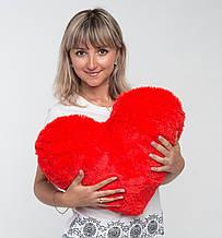 Плюшева іграшка Mister Medved Подушка-серце Рожеве 50 см