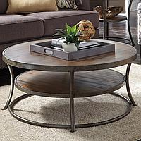 """Журнальный столик """"Рустик"""", кофейный столик, столик для прихожей, маленький столик, круглый столик"""