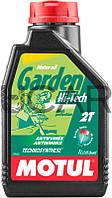 Motul Garden 2T Hi-Tech моторное масло для садовой техники, 1 л (834901)