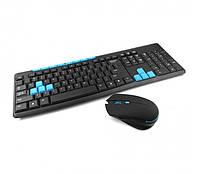 Клавіатура бездротова ігрова і миша HK3800, комплект бездротової Wireless, фото 1