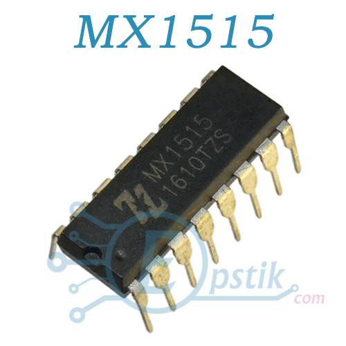 MX1515, драйвер шагового двигателя, DIP16