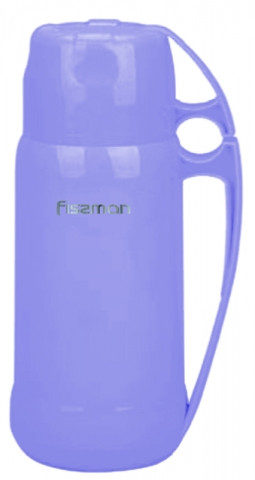 Термос з пластику 600 мл Fissman Фіолетовий (VA-7932.600)