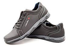Кроссовки туфли мужские черные, фото 2