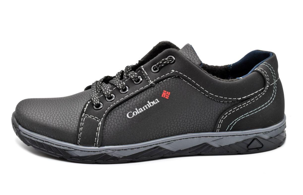 Кросівки туфлі чоловічі чорні 44 розмір