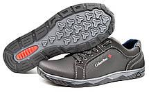 Кроссовки туфли мужские черные, фото 3