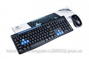 Игровая беспроводная  клавиатура и мышь HK3800