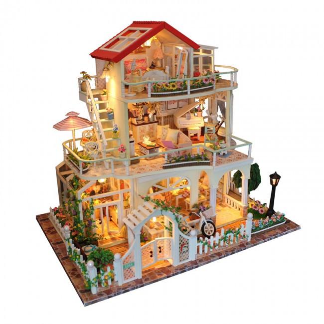 3D Интерьерный конструктор Large DIY Doll House M+ Be enduring as the universe