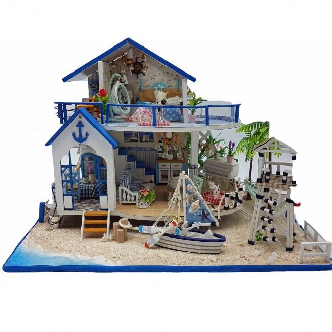 3D Интерьерный конструктор Midsize DIY Doll House Legend Of The Blue Sea