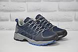 Чоловічі сині кросівки на мембрані Restime (розміри:40,41,42,43,44,45), фото 2
