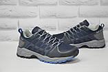 Чоловічі сині кросівки на мембрані Restime (розміри:40,41,42,43,44,45), фото 4