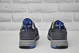 Чоловічі сині кросівки на мембрані Restime (розміри:40,41,42,43,44,45), фото 5