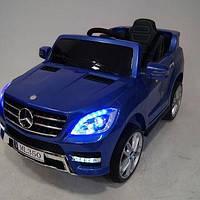 Детский электромобиль Мерседес МЛ 350 Mercedes ML 350 синий, M 3568 EBLRS-4, автопокраска, (разные цвета)