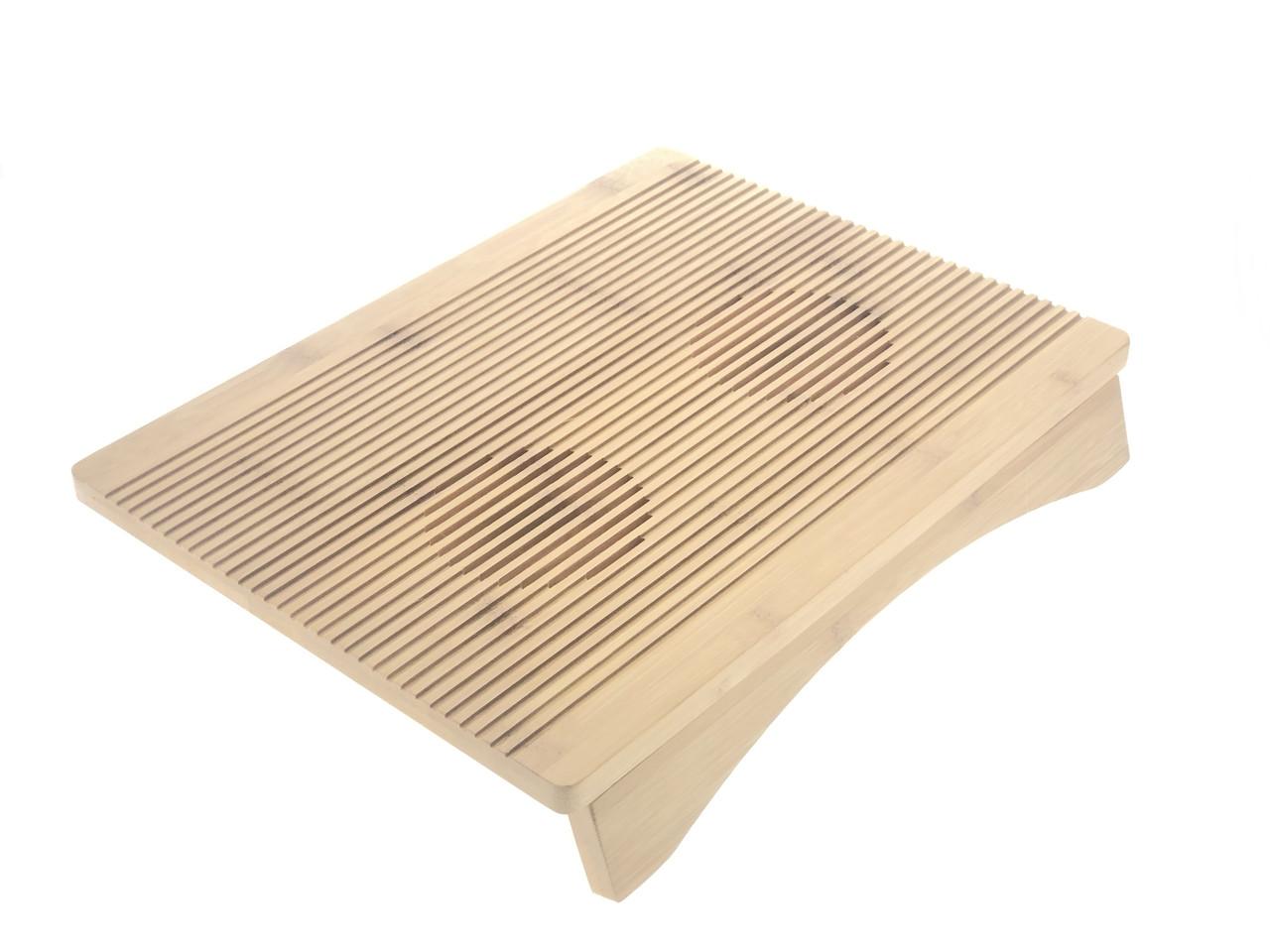 Бамбуковая подставка для ноутбука P1