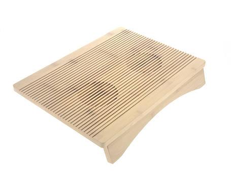 Бамбуковая подставка для ноутбука P1, фото 2
