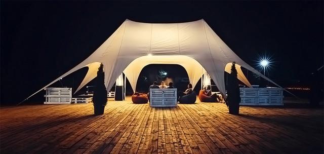палатка для пляжа большая