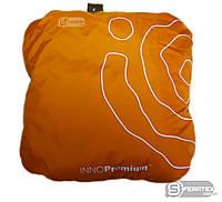 Подушка с пенопластовыми шариками антистресс 30 на 30 см, оранжевая