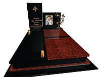 Пам'ятник гранітний подвійний Ексклюзивний S1440