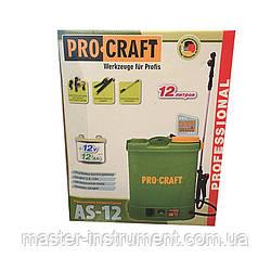 Акумуляторний обприскувач Procraft AS-12