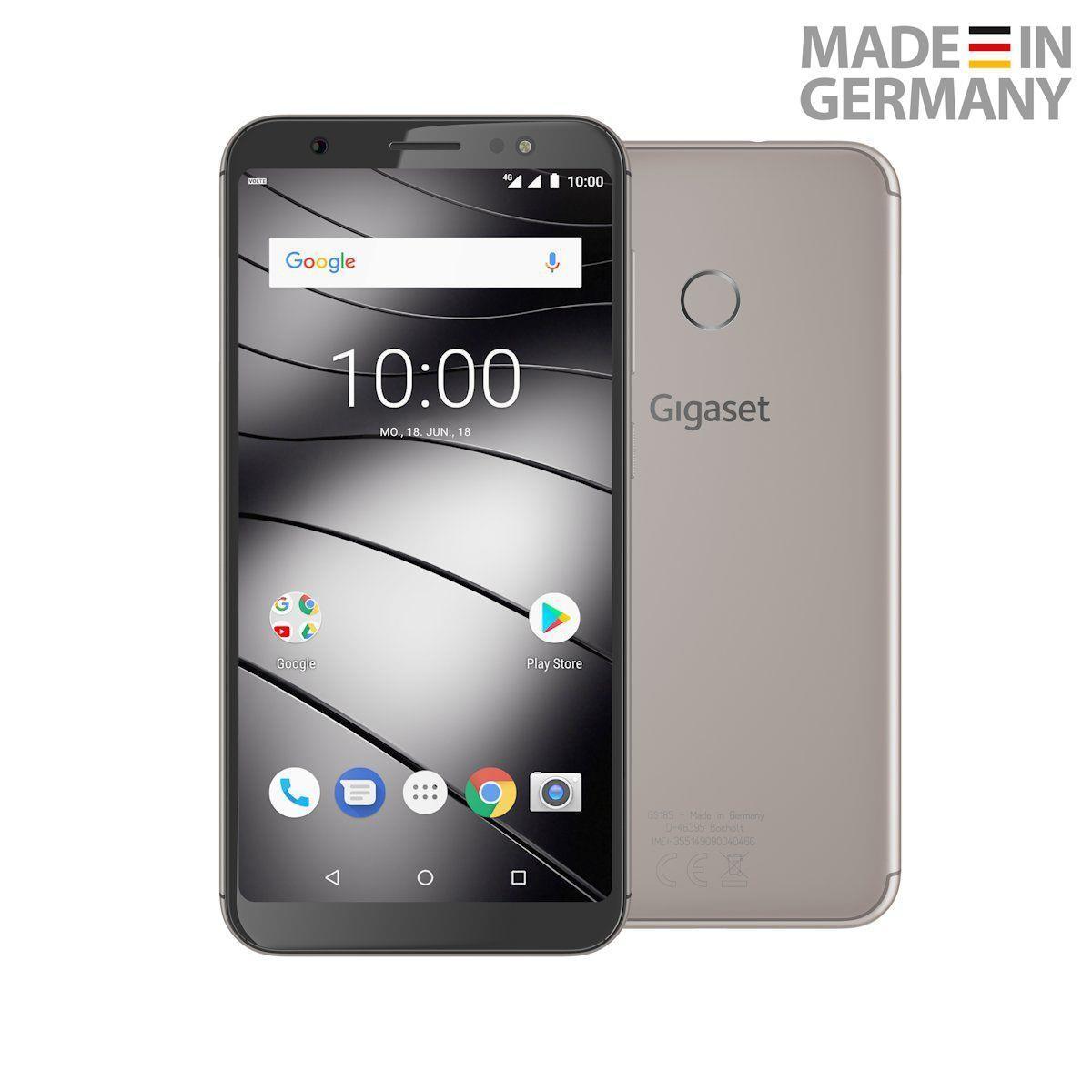 Смартфон Gigaset GS185 2/16GB DUALSIM Metal Cognac