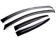 Дефлекторы окон ветровики Mercedes Sprinter 2006г. VW Crafter 06-  (По Двери) Мерседес спринтер