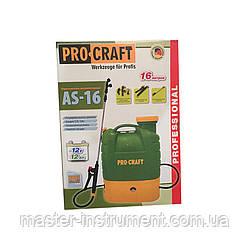 Акумуляторний обприскувач Procraft AS-16