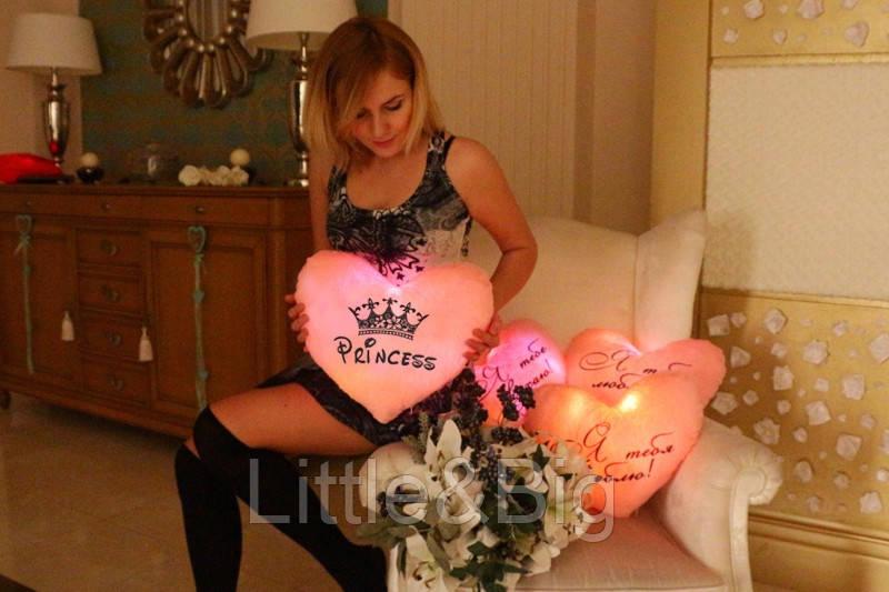 """Светящаяся подушка-ночник """"Princess"""""""