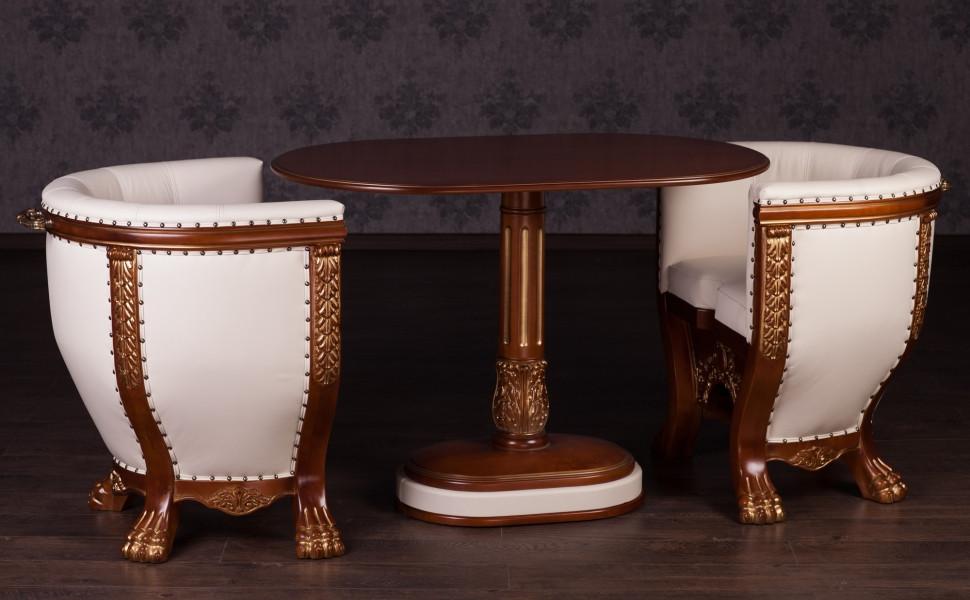 Комплект м'яких меблів Тет-а-Тет (два крісла зі столиком) Кур'єр