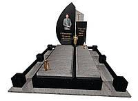 Пам'ятник надгробний гранітний одинарний Ексклюзивний S38/e