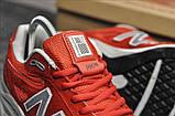 Кросівки New Balance 990 Red White, фото 2