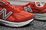 Кросівки New Balance 990 Red White, фото 6