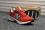 Кросівки New Balance 990 Red White, фото 5