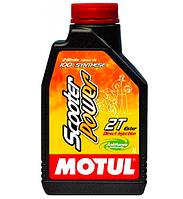 Моторное масло Motul Scooter Power 2T (синтетика)