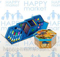 Набор для детского творчества Пираты (46 предметов) шестигранный