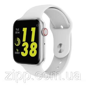 Смарт-часы W34 Smart Watch сенсорные белый