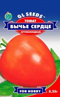 Семена томат Бычье сердце H=до1,5м, плоды 300-400г