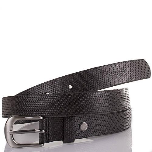 Женский кожаный ремень ETERNO (ЭТЕРНО) ETS5028 черный