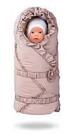 Пасторель ДоРечі™. Конверт на выписку новорожденного. Конверт -одеяло на овчине.