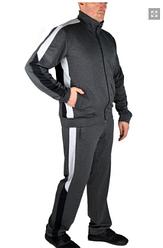 Мужской спортивный костюм, большого размера, брюки прямые, тр-ж двунитка, р.  L, XL,XXL  антраци