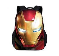 Рюкзак Железный человек, сумка с принтом Железного человека 43*30*15 см